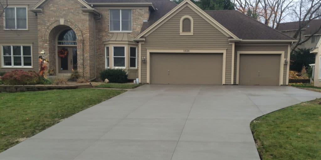 concrete driveways lombard il