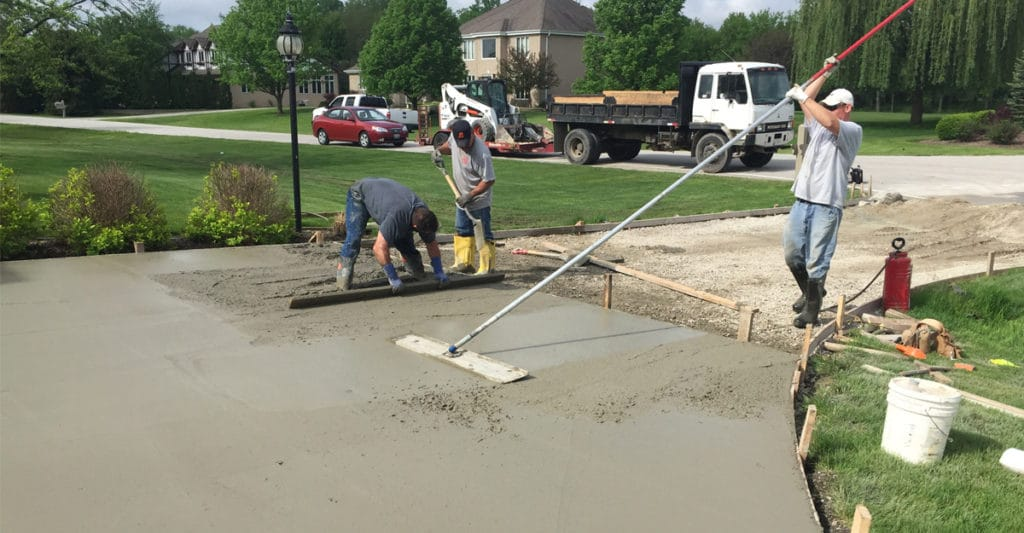 concrete services oak brook il